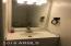 Ceramic tile in guest bath