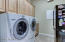 Upstairs Laundry room. Washer and Dryer are included in sale of home