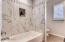 Guest bath new tile shower