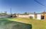 Oversized Grass yard, storage shed
