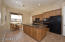 There is direct garage access the kitchen making it easy to unload groceries.