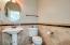 upgraded powder bathroom