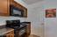 Kitchen, pantry door
