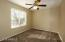 2nd Bedroom with Ceiling Fan