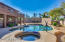 Heated Diving Pool and Spa