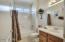 Offer your guests a bathroom that includes both a tub and shower.