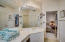 Vanity area in Casita Bath Rm. Enjoy a Walk in Closet and also separate water closet.