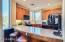 Gorgeous Slab Granite kitchen with breakfast bar seating!