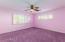 Bedroom 2 is pink, pink!