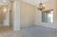 Formal Dining Room with Master Bedroom Hallway