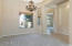 Formal Dining Room with Entry Hall View