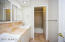 3rd Bath Vanity with tub/shower in far ground