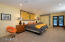 Spacious Master Suite with walk-in closet and French doors that lead to patio.