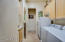 Second refrigerator in Laundry Rm and this W/D set convey with the home.