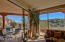 VIEWS TO PATIO & MOUNTAINS FROM GUEST SUITE