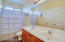 Double vanity in secondary bath