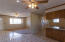 Open Concept, Great Room, Dining Area & Kitchen