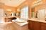 2 Sinks & a Vanity Area