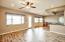 Gameroom/living room/dining room