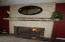 Master suite LP fireplace