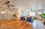 Family room and entertaining space