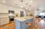 KitchenAid appliance package and quartz countertops