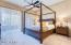 Deluxe Master Bedroom with private balcony.
