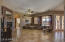Large great room is wonderful for entertaining.