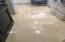 Just polished marble floors in Laundryroom main.