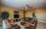Nice large lower level familyroom for guest or teens!