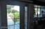 Newer French doors to back yard
