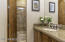 Guest Bathroom with shower & tub