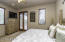 Full guest suite with private balcony/loggia with fireplace