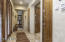 Entry hallway to bedroom 2 & master bedroom