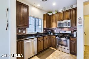 Highly upgraded kitchen.