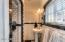 Yes, you read that correctly: A master bathroom! In a historic home! Woohoo!