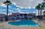 Heated pool & spa with plenty of lounge area