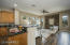 The Kitchen opens to a beautiful Family Room.