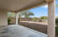 Covered Patio and View Fencing to Wash Lot