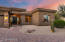 Gorgeous Arizona sunsets are captured every evening at this beautiful North Scottsdale home.