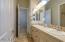 Jack & Jill Bathroom with Dual Sinks
