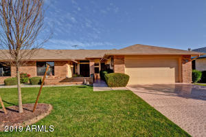 Welcome to fabulous Arizona Living! Brick front and new exterior paint next month.