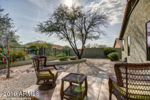 Soak up that beautiful Arizona sunshine from the privacy of your backyard.