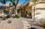 Xeriscape landscaping provides lock and leave opportunity