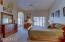 Large, bright master bedroom