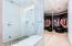 Steam shower & closet