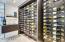 Custom built by Tennen Construction holds 300 bottles of wine