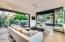 Glass walls disappear providing wonderful outdoor living