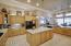 Kitchen w/custom backsplash tile