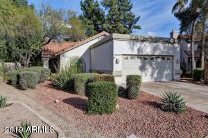 This Central Scottsdale dream is located on a spacious, cul-de-sac lot near the Loop 101 freeway and just minutes away from Kierland Commons, McCormick Ranch, and Old Town Scottsdale. As you walk into this bright, remodeled home, you are greeted with vaulted ceilings and multiple windows ushering in natural light. The long list of upgrades include wood plank flooring, shiplap wall accents, custom barn door, honed quartz counter tops, shaker cabinets, and much more! The spacious backyard is an entertainer's delight, complete with a covered patio, ceiling fan, misting system, multiple sitting areas, lush desert landscape, and a gated pool with built-in spa. It is rare to find a home in this neighborhood with upgrades and a color palette in line with the modern buyer's wants.